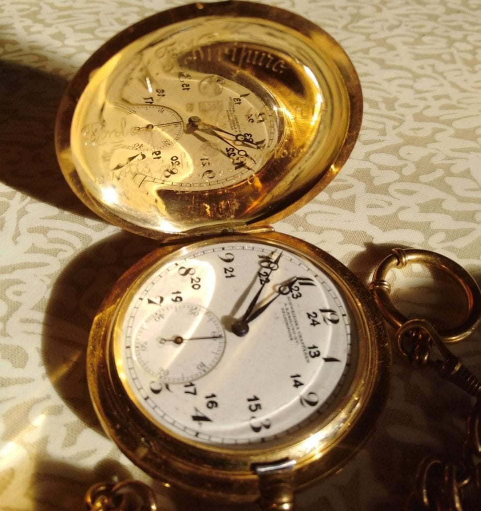 Ristos pocket watch